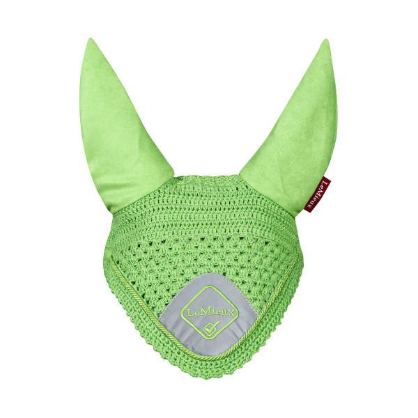 LeMieux High Visibility Fly Hood Lime