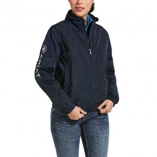 Ariat Womens Stable Team Jacket Navy