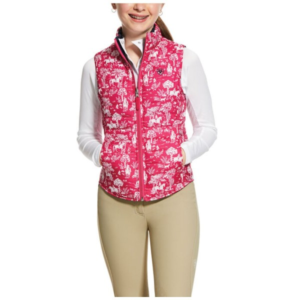 Ariat Girls Emma Insulated Reversible Vest