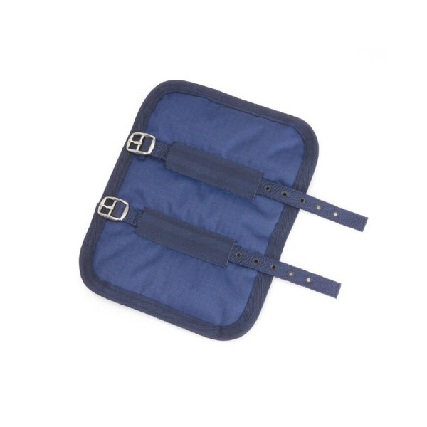 Shires Chest Expander Buckled Navy