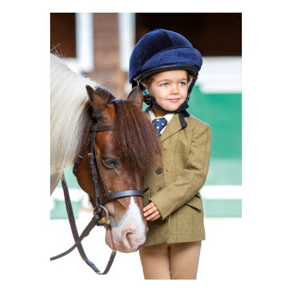 Shires KIds Aubrion Saratoga Jacket Copper Check