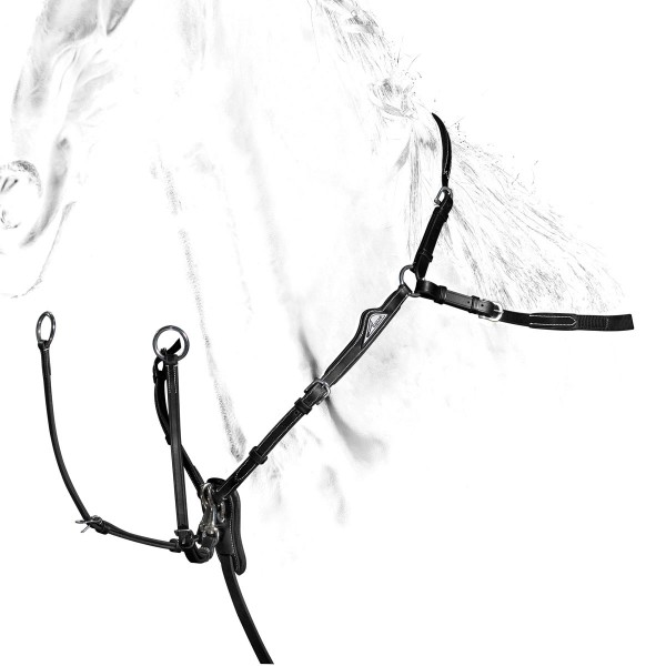 Equiline Breastplate With Martingale Attachment