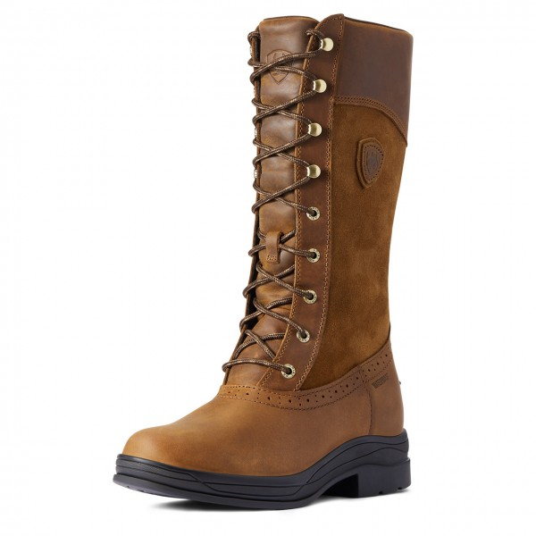 Ariat Women's Wythburn H20 Weathered Brown Boot