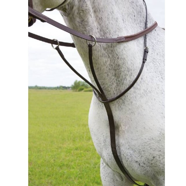 Shires Blenheim Leather Running Martingale