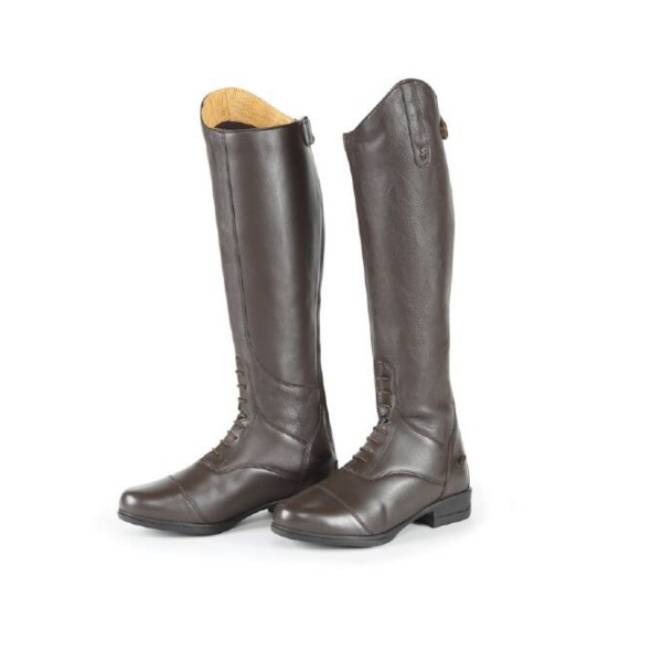 Shires Moretta Gianna Long Riding Boots Brown