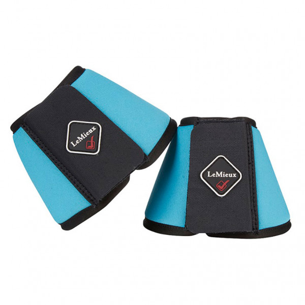 LeMieux Soft Shell Over Reach Boots Teal